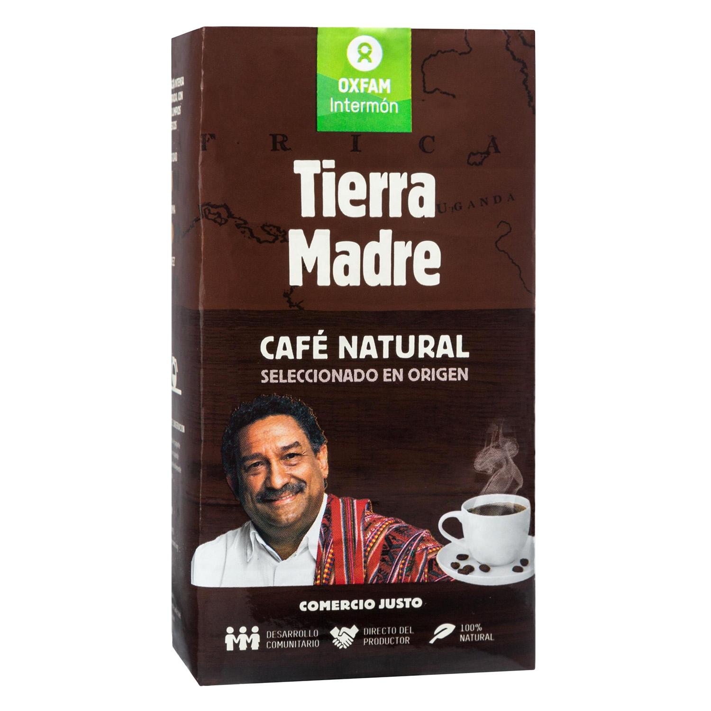 Café molido natural Oxfam Intermón 250 g.