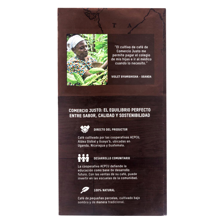 Café molido natural Oxfam Intermón 250 g. - 2