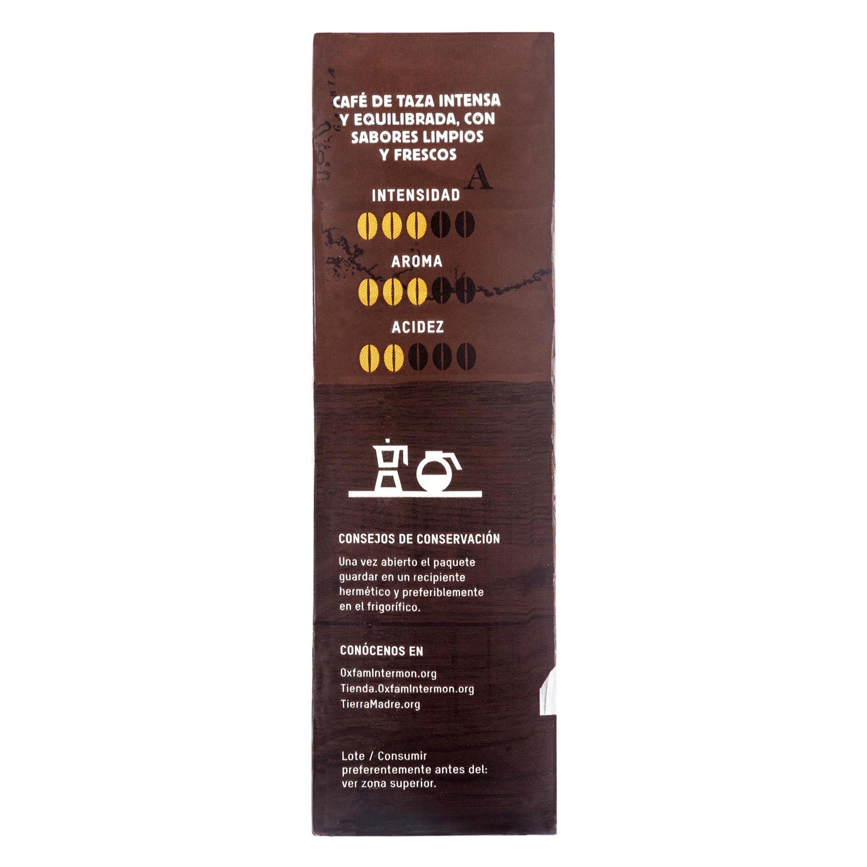 Café molido natural Oxfam Intermón 250 g. - 3