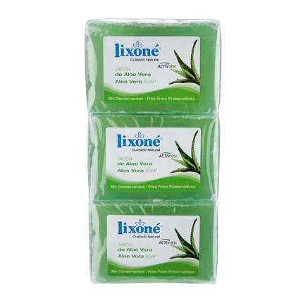 Jabón aloe vera Lixoné 375 g.