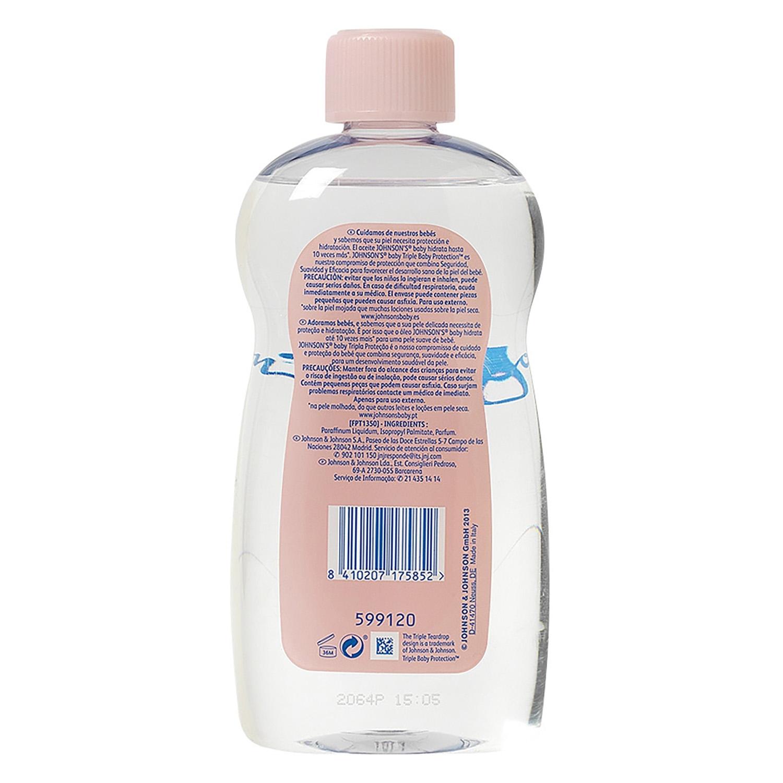 Aceite corporal hidratante Johnson's Baby 500 ml. - 2