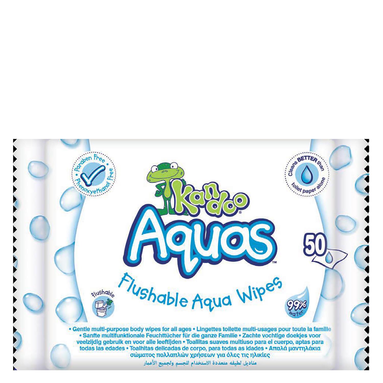 Papel higiénico húmedo Kandoo 50 ud.