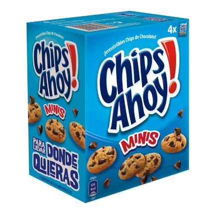 Galletas con pepitas de chocolate Minis Chips Ahoy 160 g.