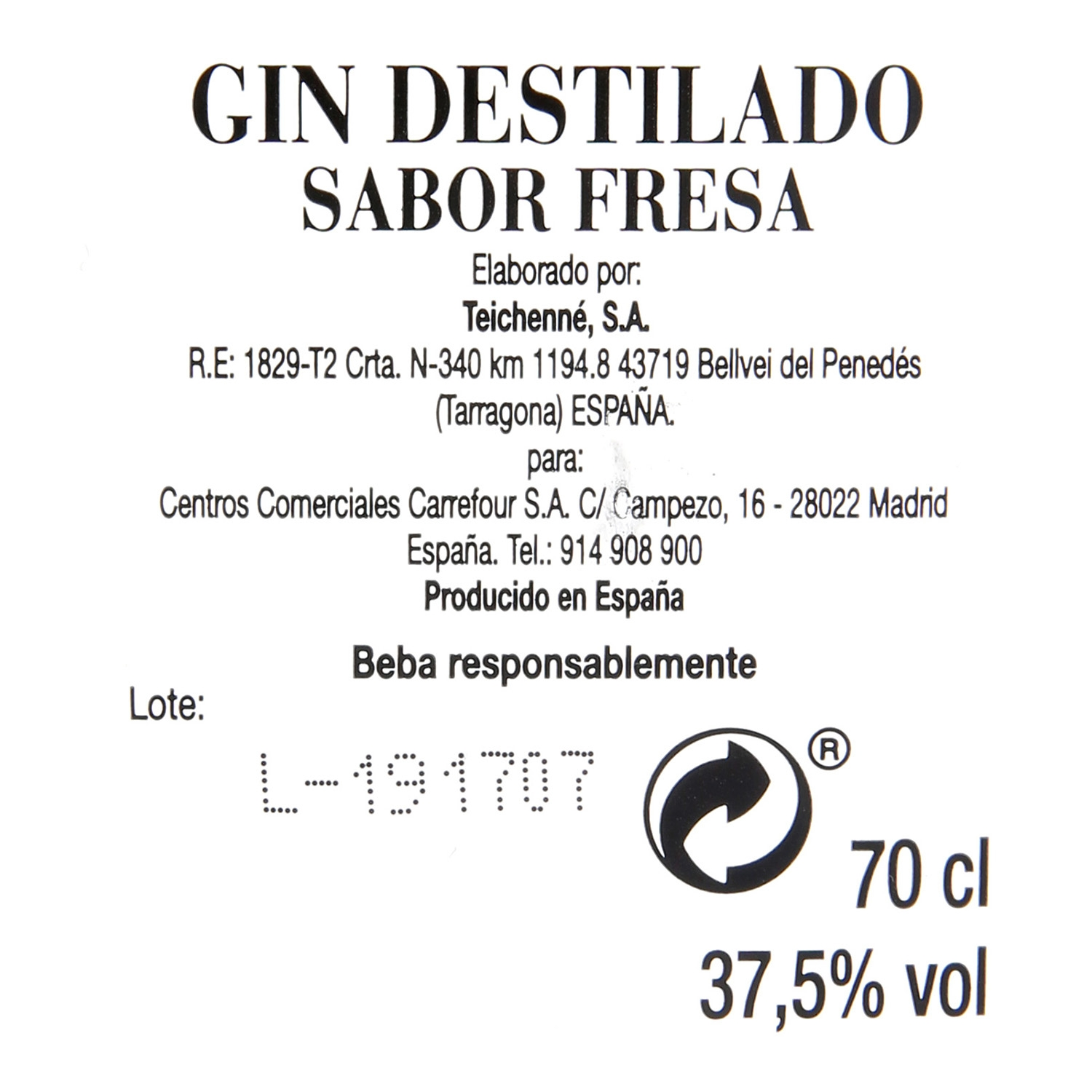 Ginebra Old Thames 70 cl. -