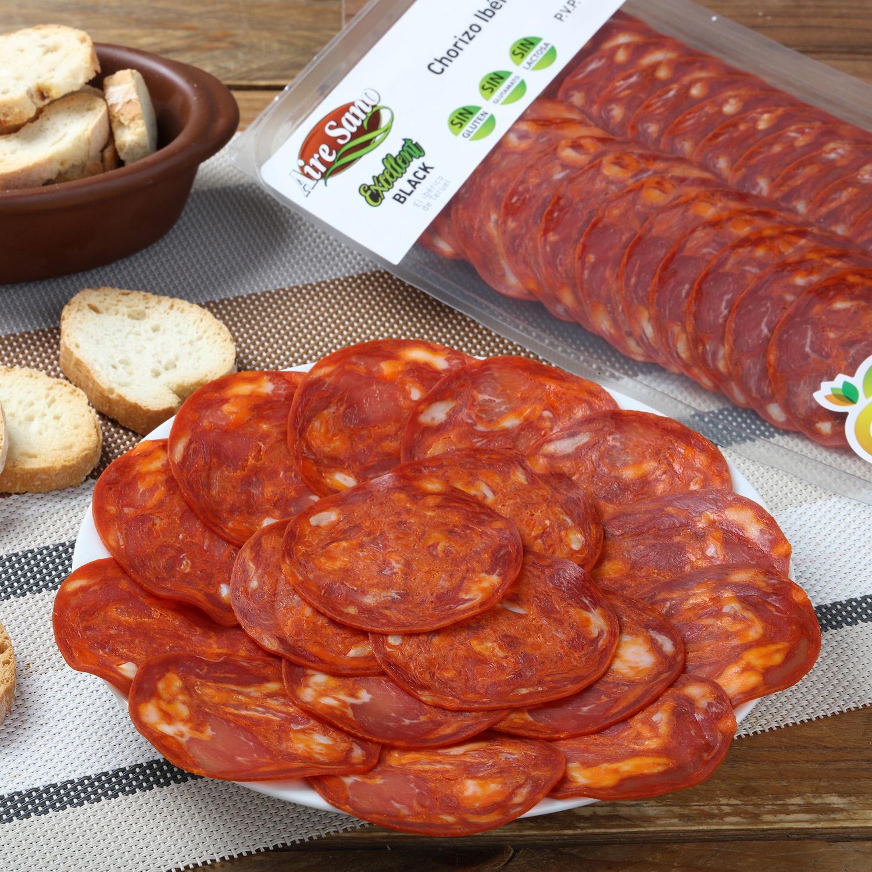 Chorizo ibérico loncheado Airesano sobre 80 g - 3
