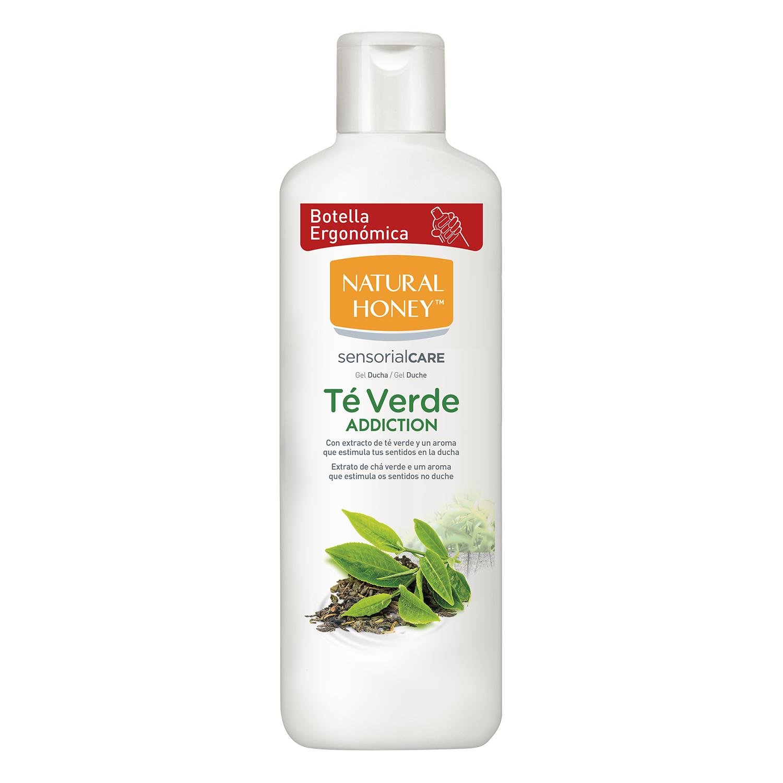 Gel baño ducha de Té Verde Natural Honey 650 ml.