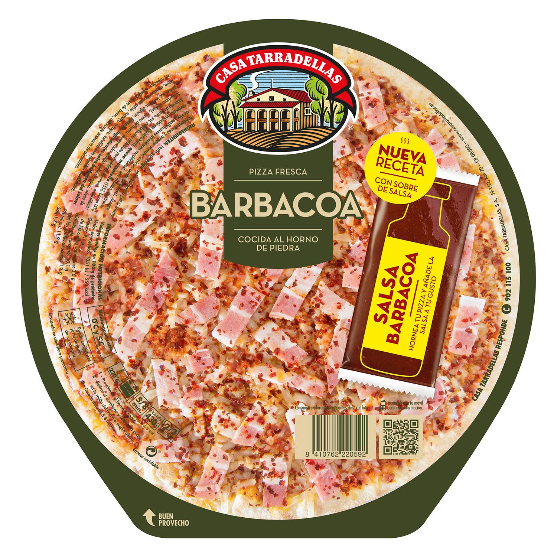 Pizza barbacoa Casa Tarradellas 410 g.