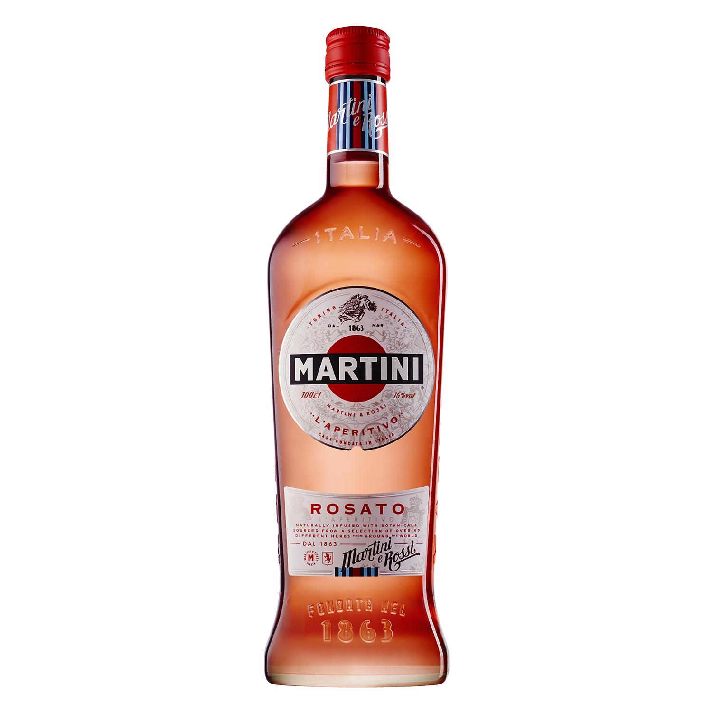 Vermut Martini rosado 1 l.
