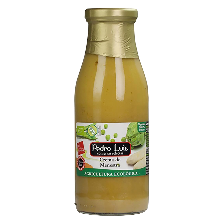 Crema de menestra ecológica Pedro Luis 500 ml.