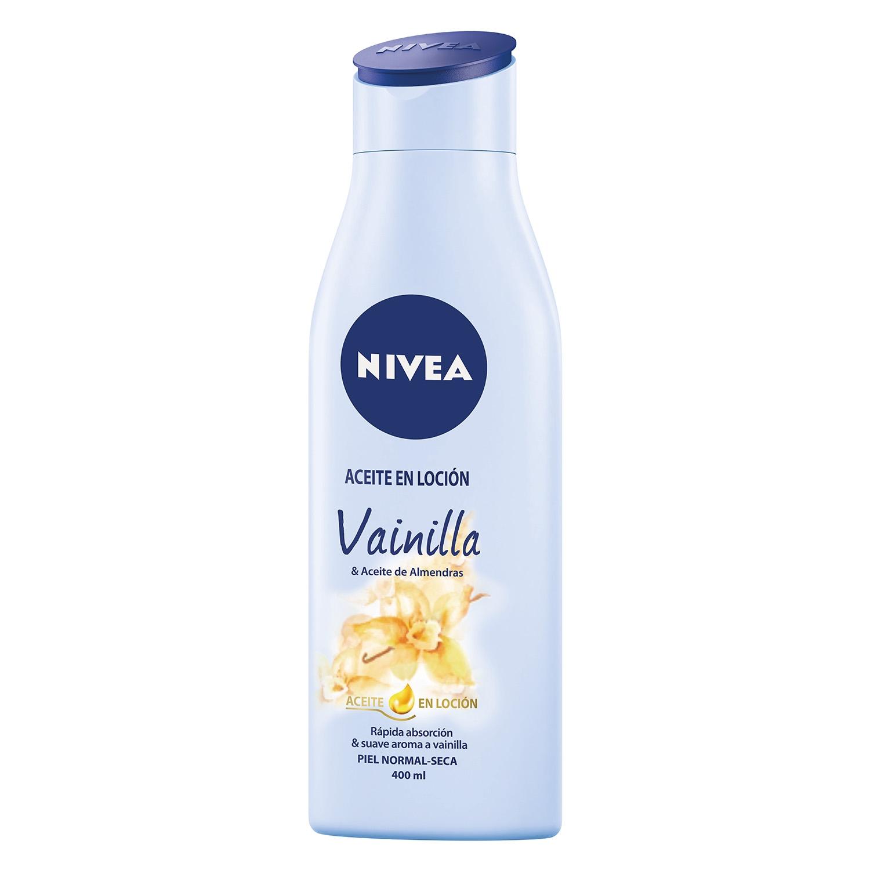 Aceite en Loción Vainilla y Aceite de Almendras para piel normal-seca