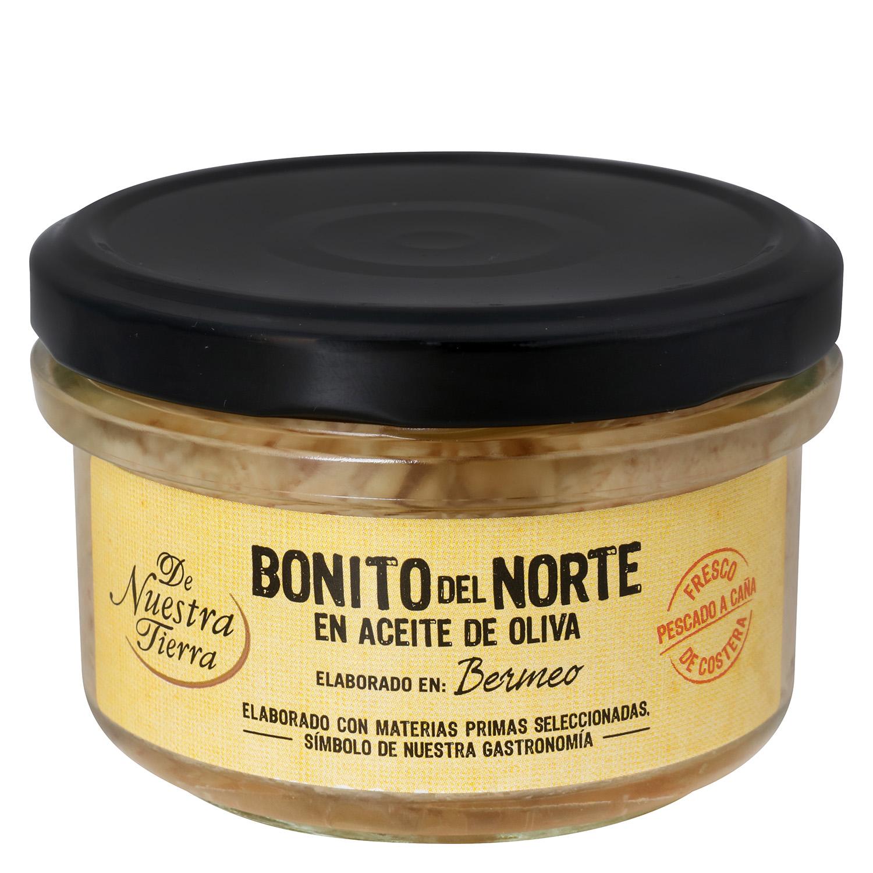 Bonito del Norte en aceite de oliva - De Nuestra Tierra