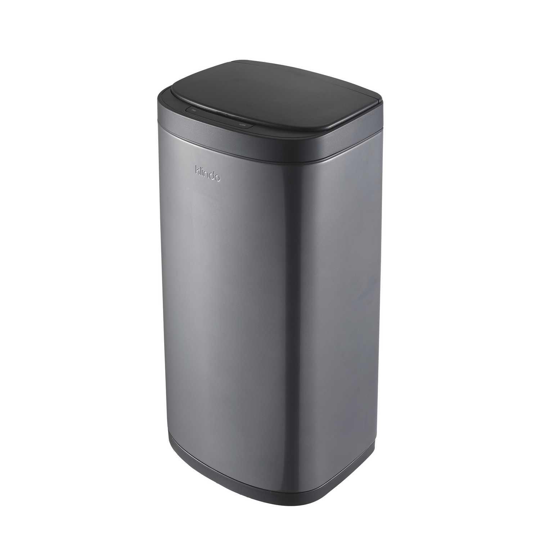 Cubo de basura de Acero inoxidable con sensor 35 Litros - Gris