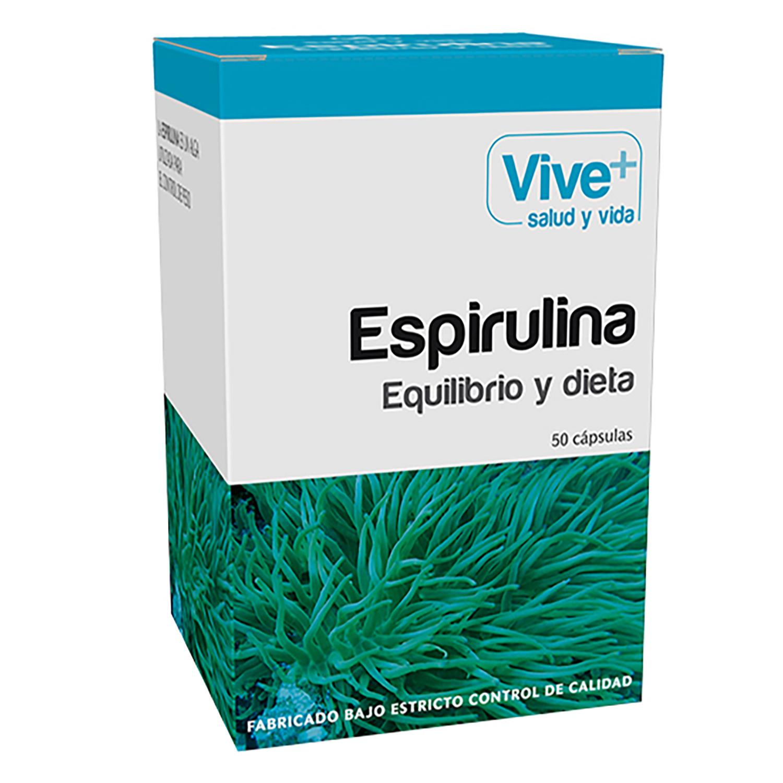 Espirulina cápsulas