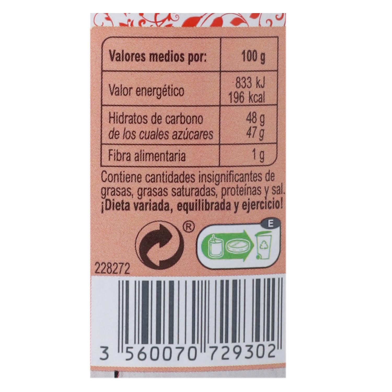 Mermelada de fresa categoría extra Carrefour 410 g. -