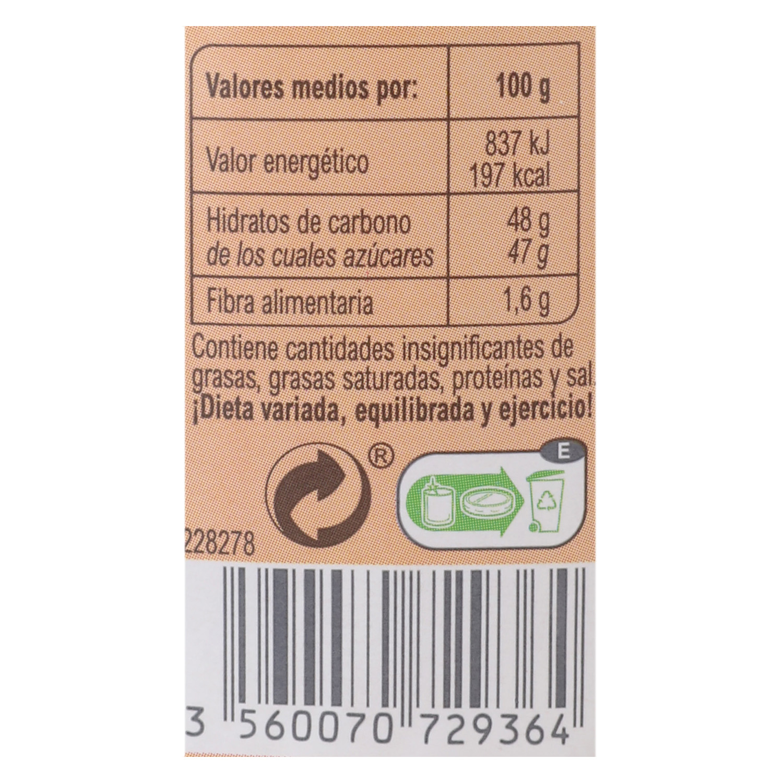 Mermelada de melocotón categoría extra Carrefour 410 g. -