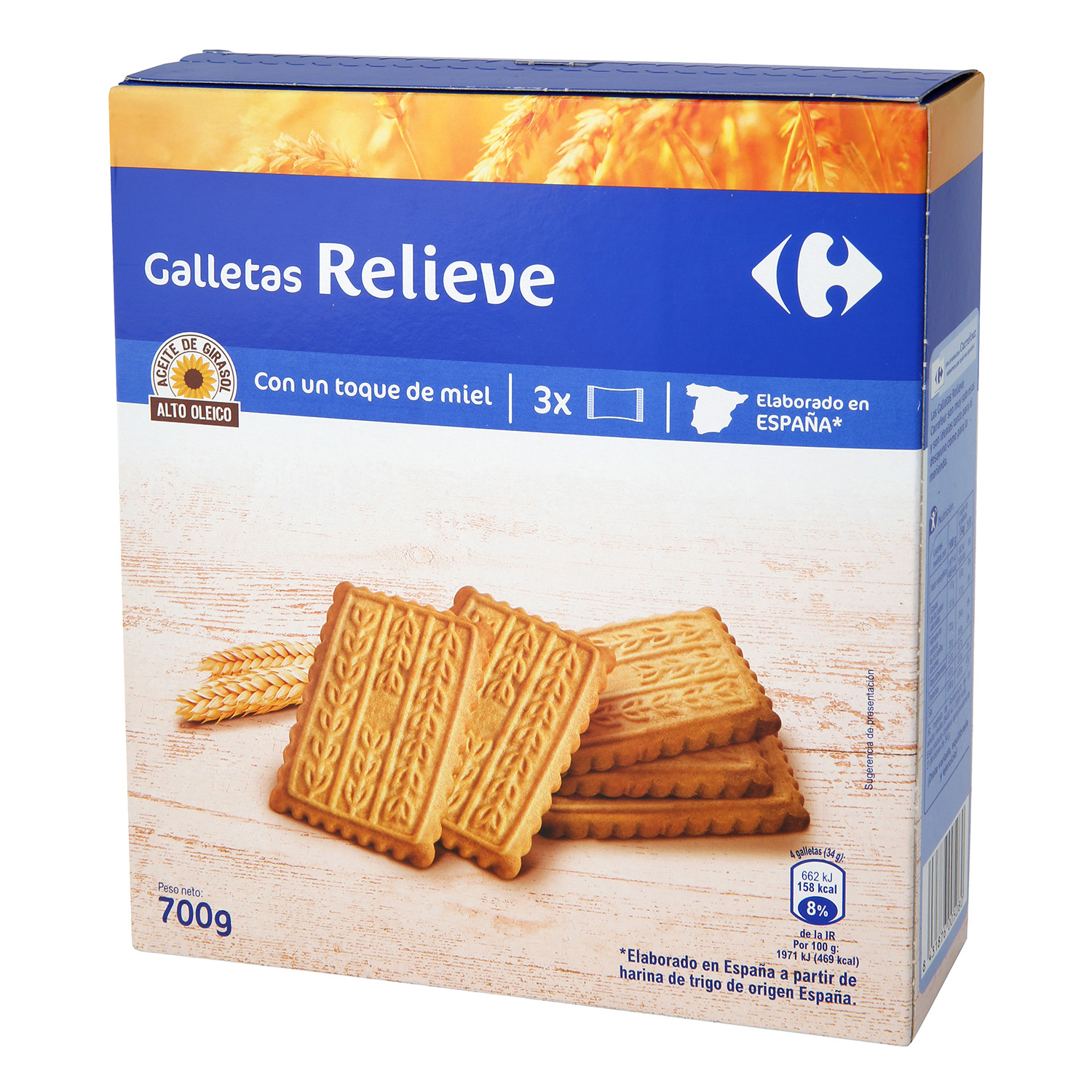 Galletas Carrefour 700 g.