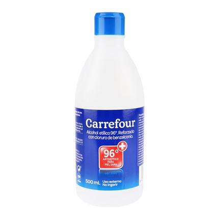 alcohol para desinfectar de 96 carrefour 500 ml carrefour carrefour supermercado compra online. Black Bedroom Furniture Sets. Home Design Ideas