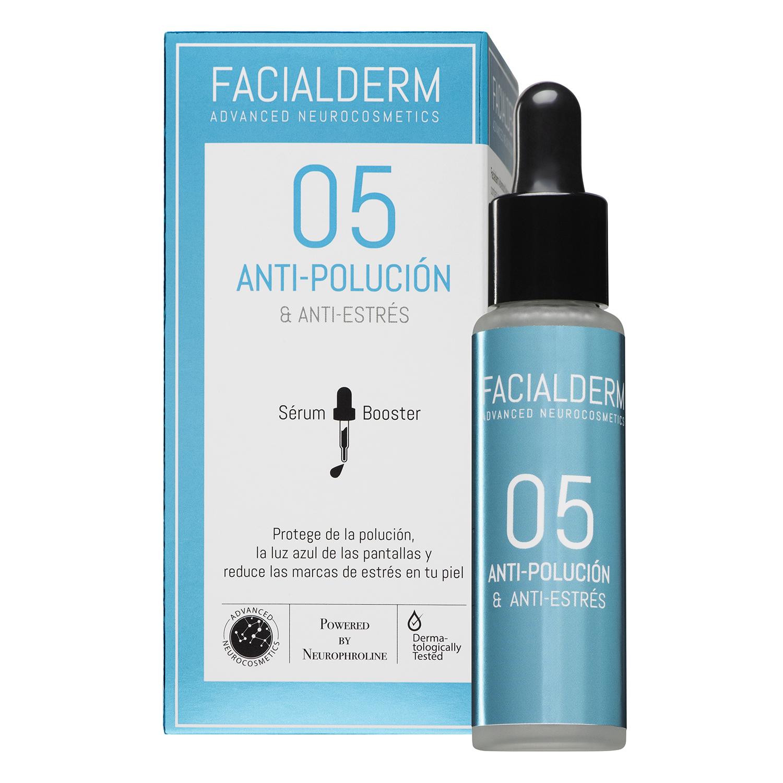 Serum antipolución y antiestres 05 Facialderm 30 ml.