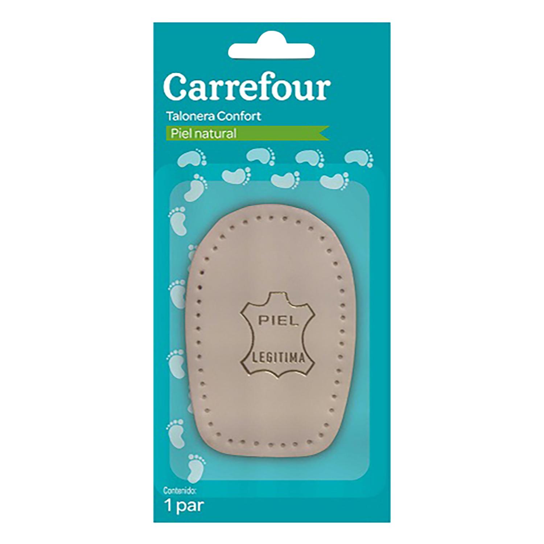Talonera piel natural Carrefour 1 par.