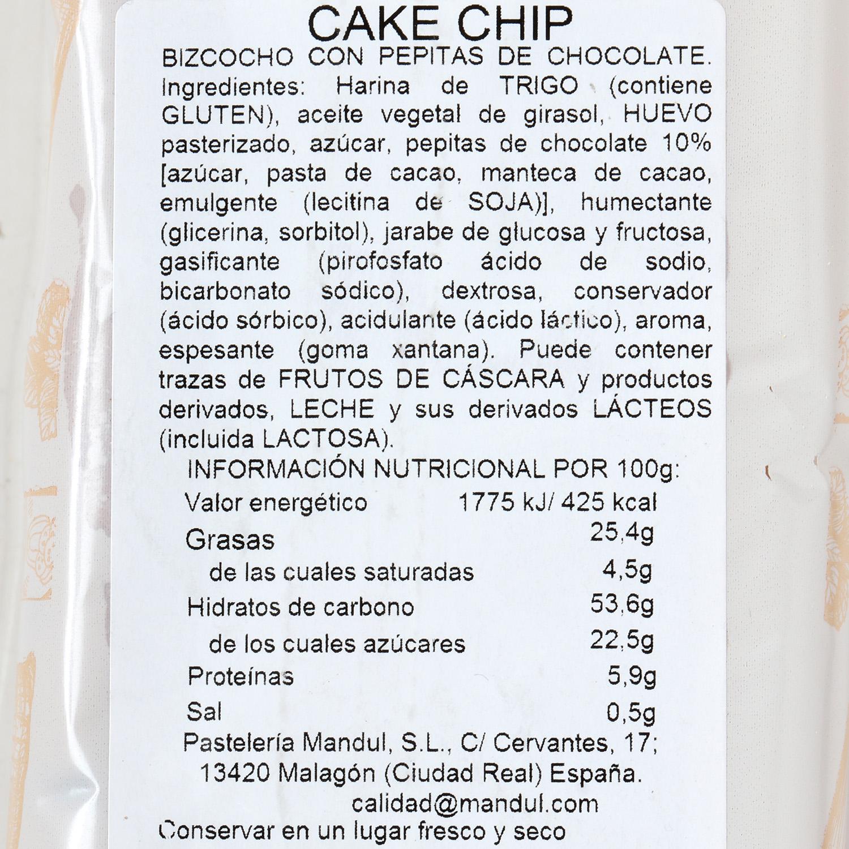 Cake chip Pastelería 550 g - 2
