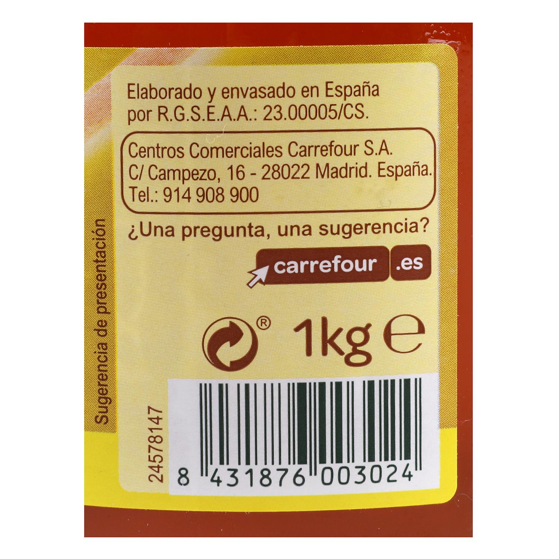 Miel de flores Carrefour 1 kg. -