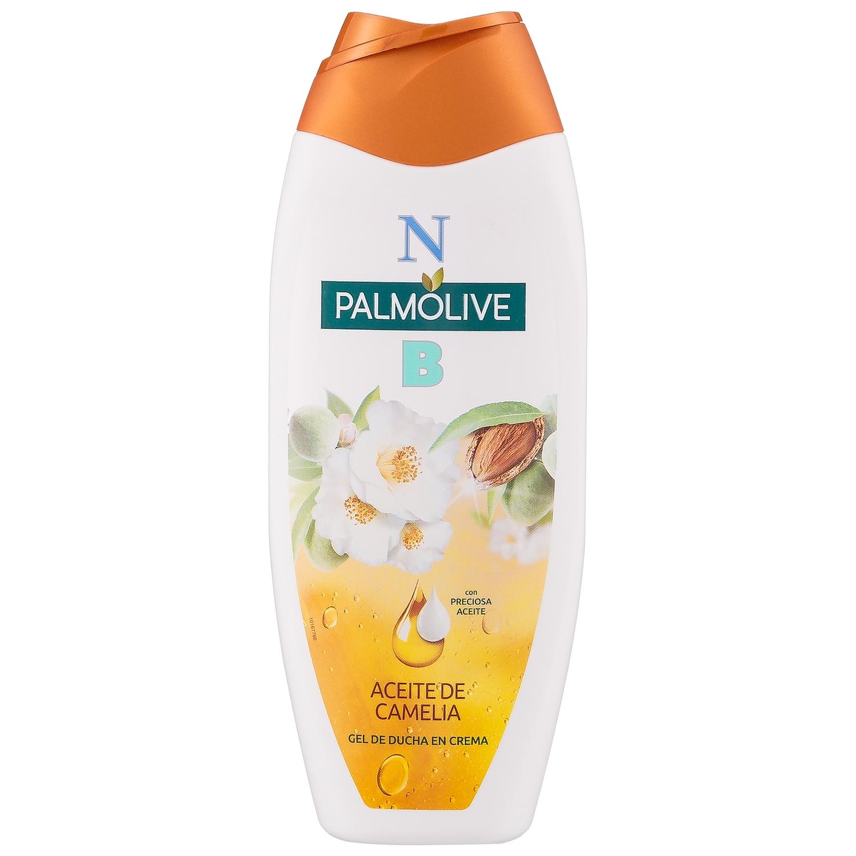 Gel de ducha en crema aceite de camelia NB Palmolive 500 ml.