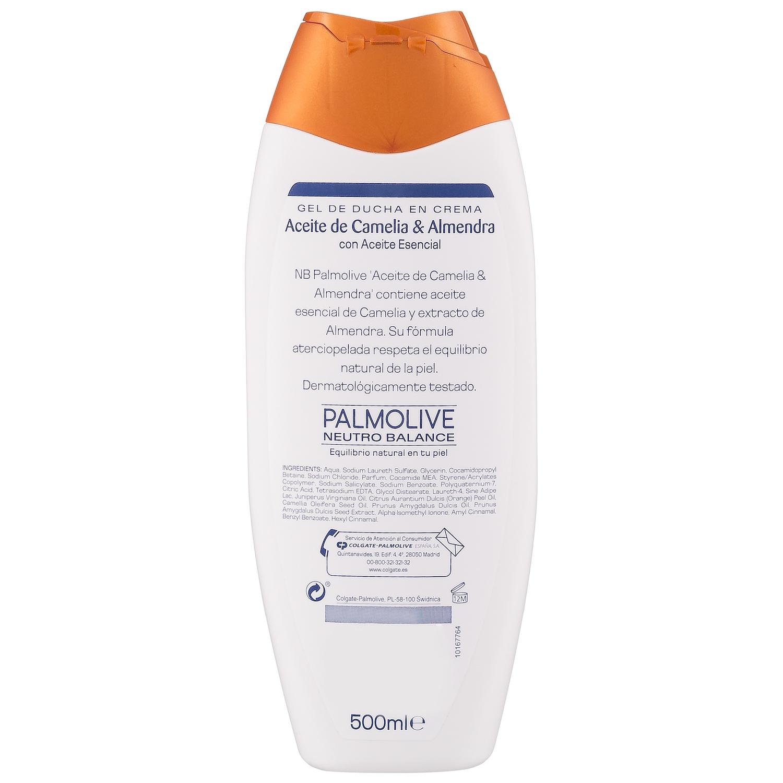 Gel de ducha en crema aceite de camelia NB Palmolive 500 ml. -