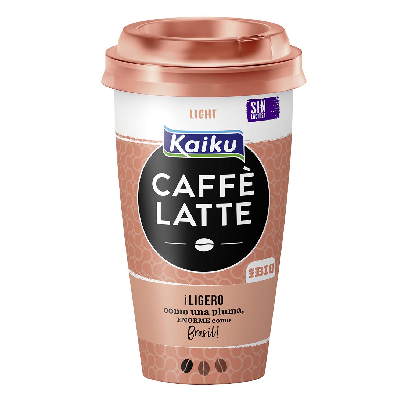 Café latte light Kaiku 230 ml.