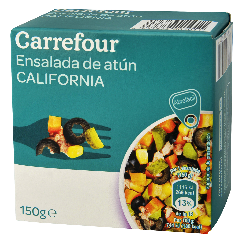 Ensalada californiana de atún
