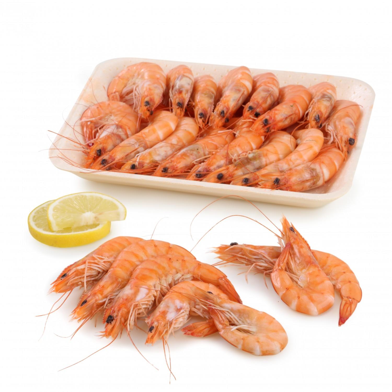 Langostino cocido Carrefour (40/60 ud) 500 g aprox