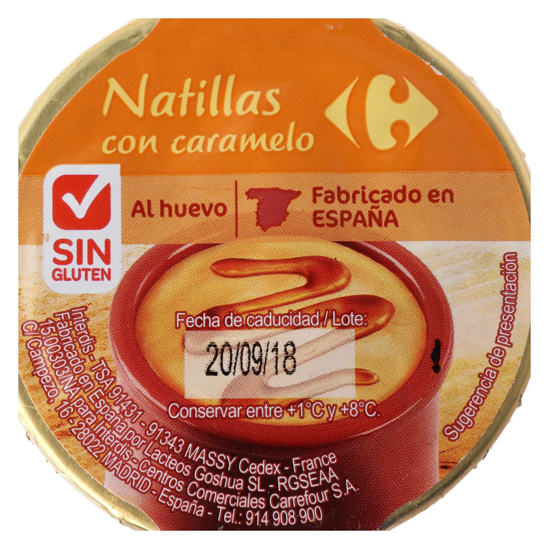 Natillas al caramelo - Sin Gluten - 2
