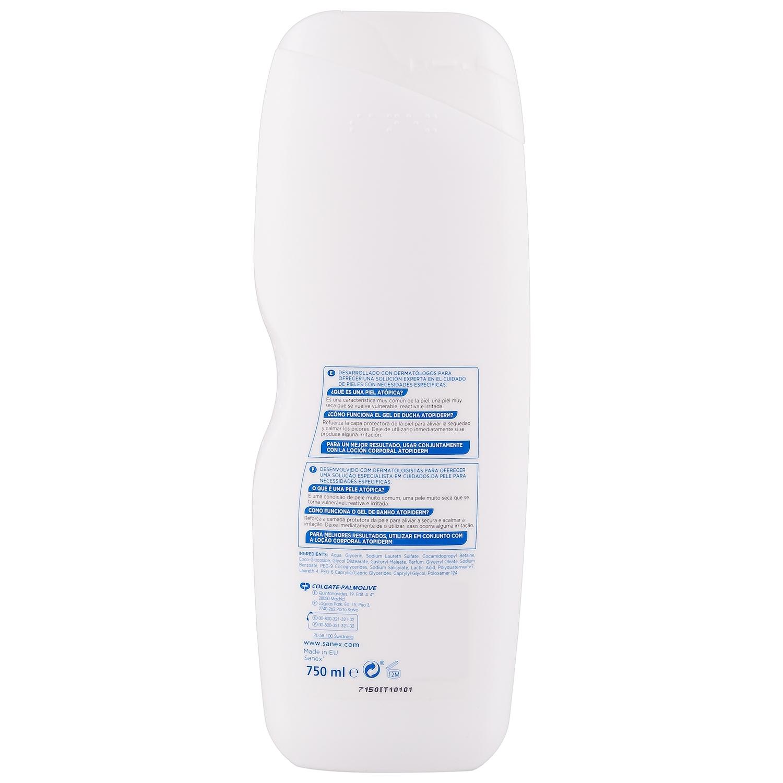 Gel de ducha Advanced AtopiDerm para pieles reactivas y atópicas Sanex 750 ml. -