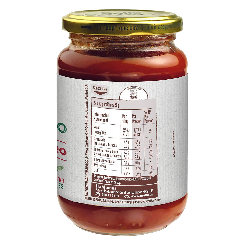 Tomate frito con aceite de oliva ecológico Solis tarro 350 g. -