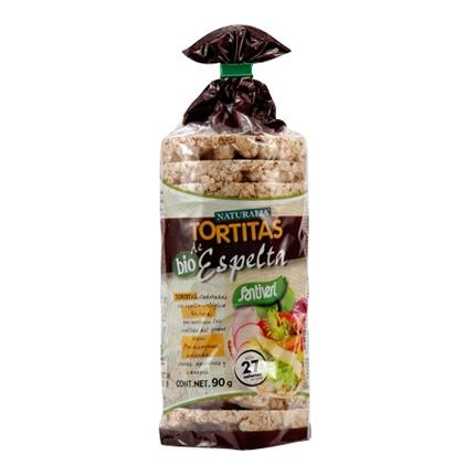 Tortitas de espelta ecológicas Santiveri 100 g.