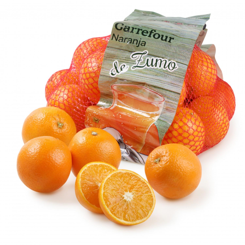 Naranja de Zumo Carrefour Malla 4 kg