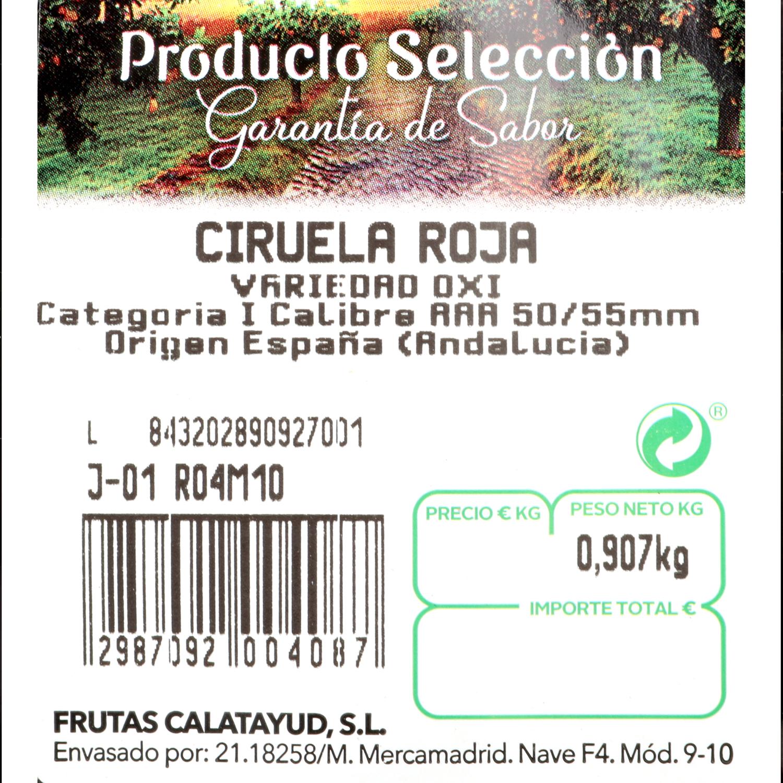 Ciruela roja/negra Selecta Carrefour 500 g aprox - 3