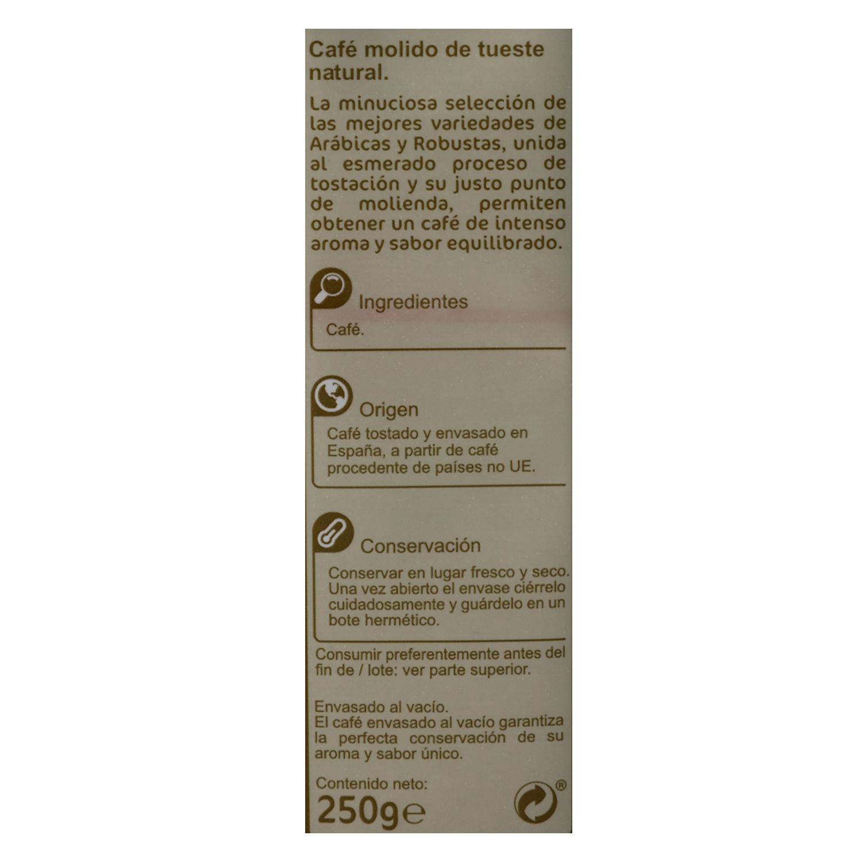 Café molido natural - 2