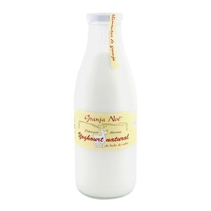 Yogur natural de leche de cabra