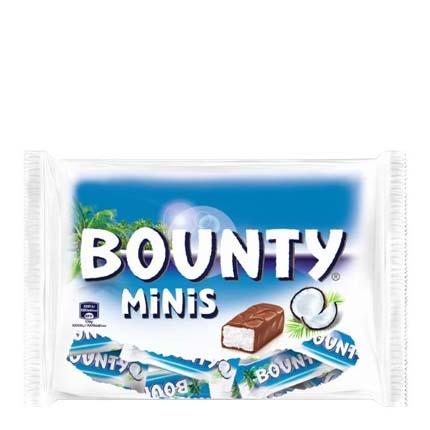 Mini barrita de chocolate y coco Bounty 170 g.