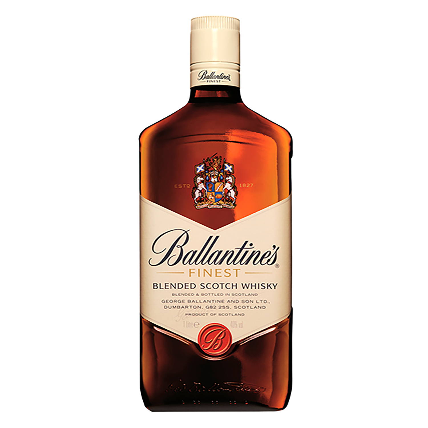 Whisky Ballantine's escocés 1 l.