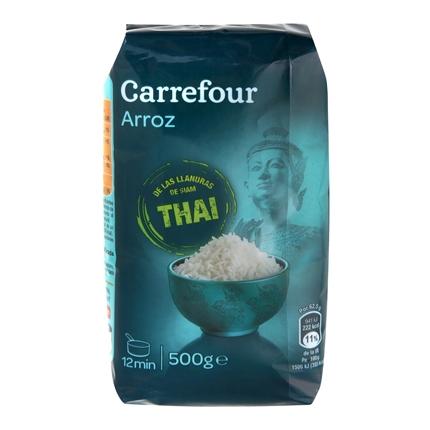 Arroz thai Carrefour 500 g.