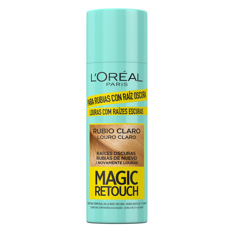 Tinte retoca raíces instantáneo rubio claro Magic Retouch L'Oréal 100 ml.