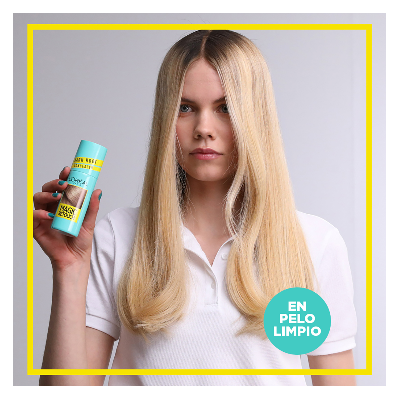 Tinte retoca raíces instantáneo rubio claro Magic Retouch L'Oréal 100 ml. - 3