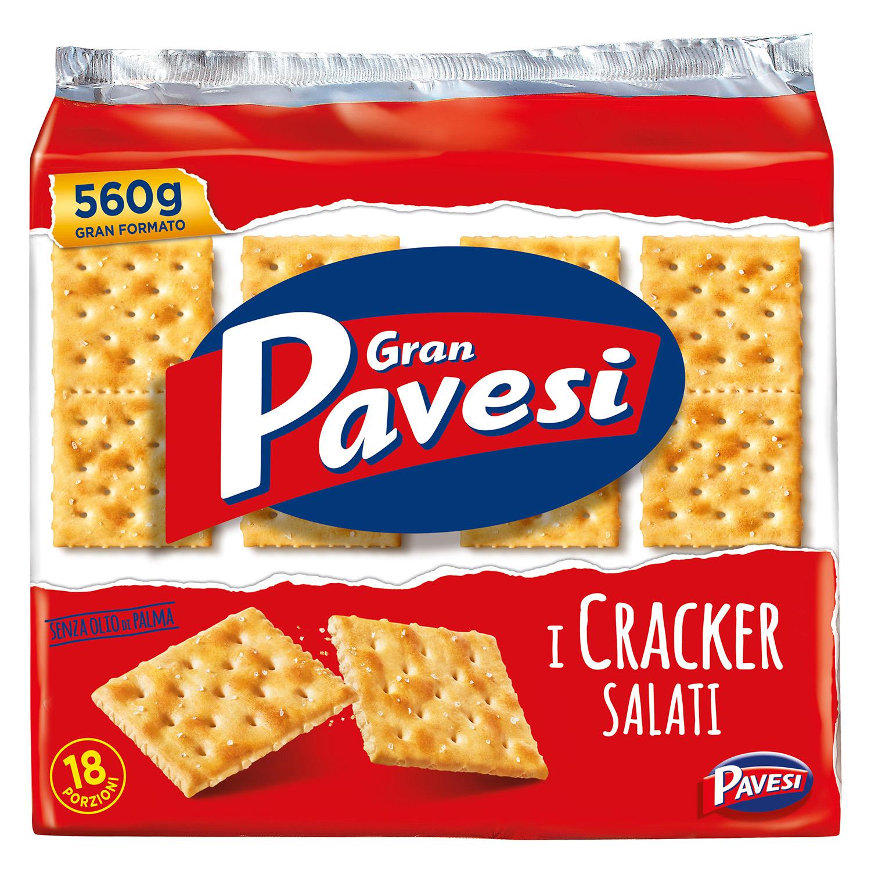 Cracker salados Gran Pavesi 560 g. - 2