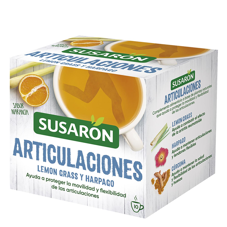 Infusión articulaciones lemon grass y harpago sabor naranja