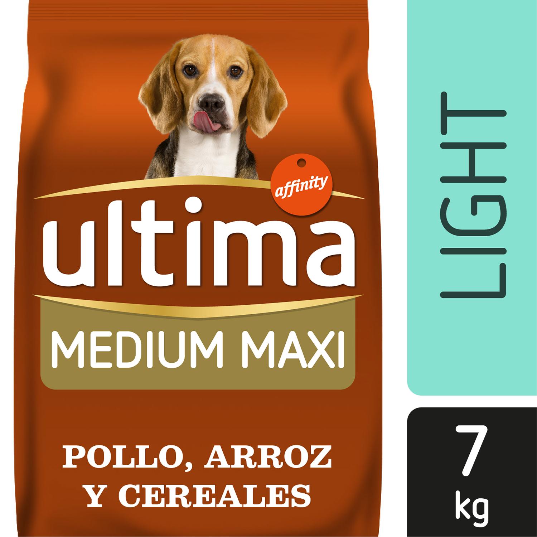 Ultima Pienso para Perro Adulto Medium - Maxi Sabor pollo y arroz  7kg. -