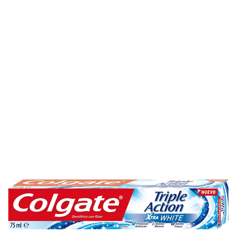 Dentífrico xtra white triple acción