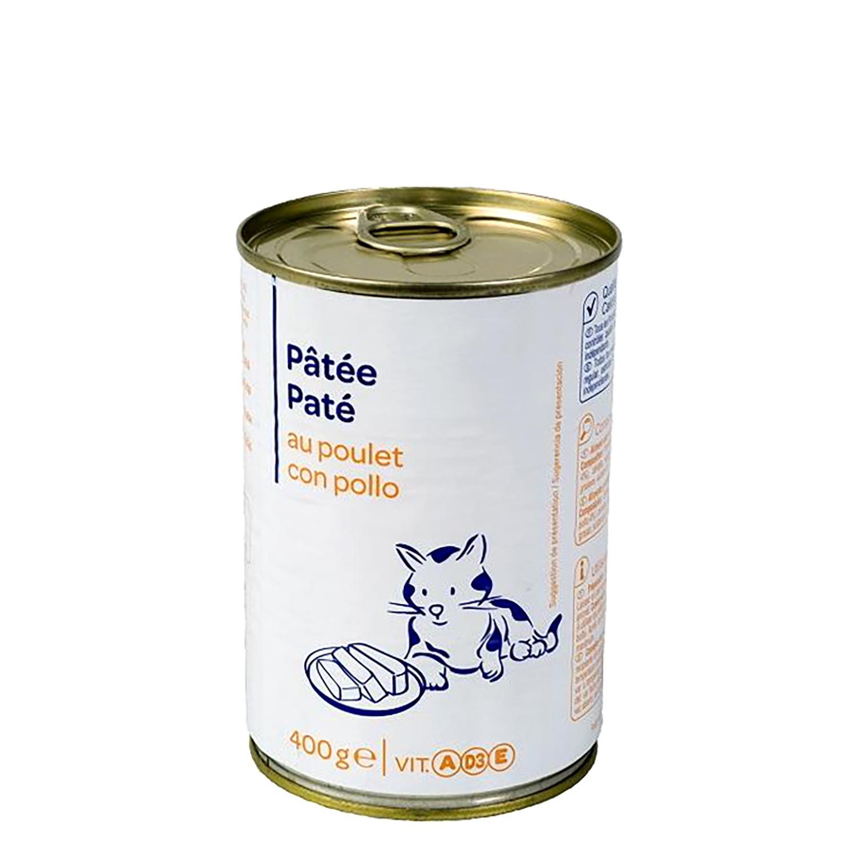 Lata Pate con Pollo para Gatos