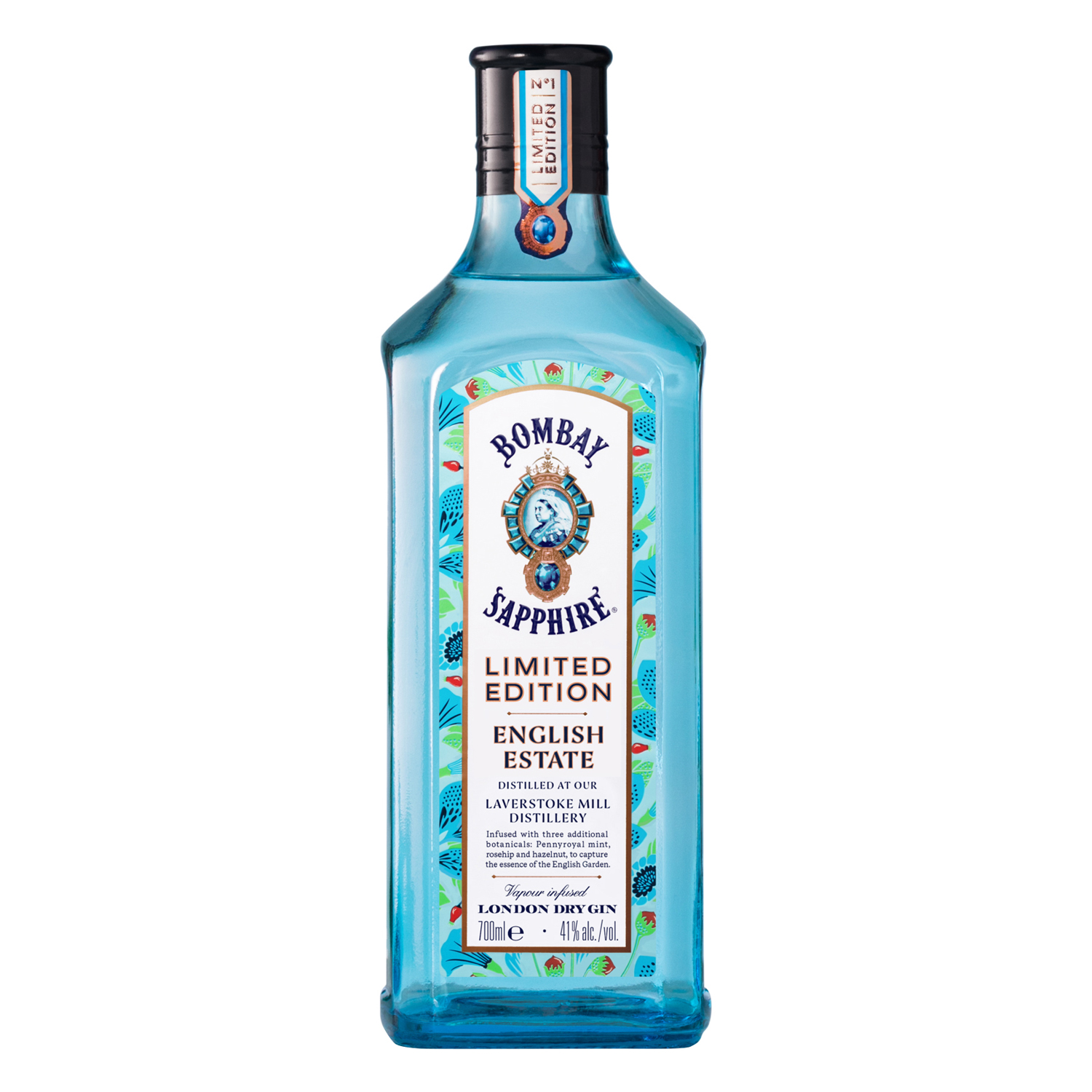 Ginebra Bombay Sapphire English Estate 70 cl.