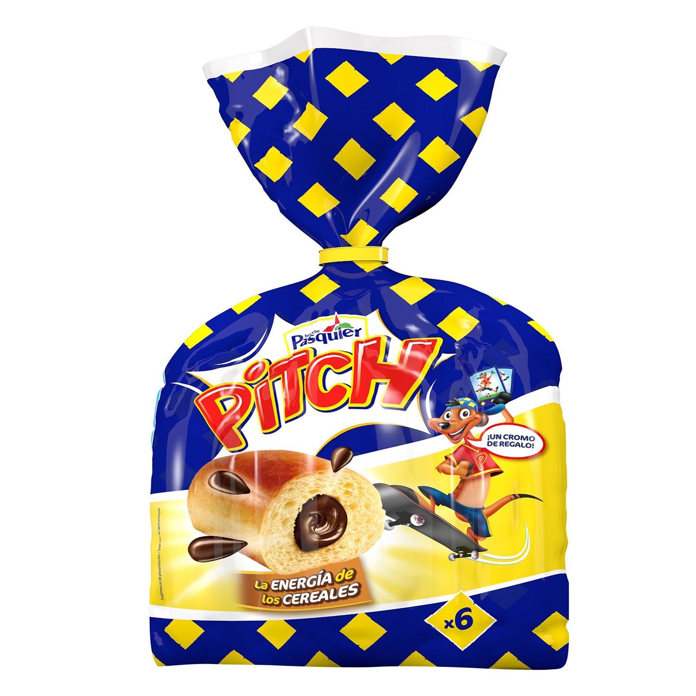 Brioche relleno chocolate Pasquier 250 g.